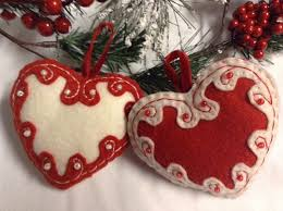 felt embroidered and beaded ornaments all cut flickr