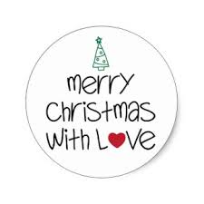 merry christmas stickers zazzle