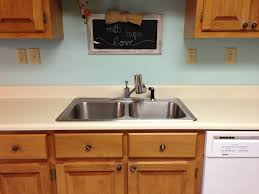 Kitchen Without Backsplash Painted Laminate Countertops Ramblings Of This Southern Mom