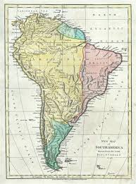 a map of south america a map of south america from the discoveries