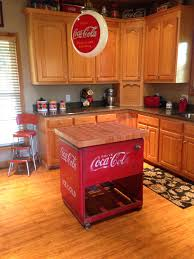 Kitchen Collectables Store by My Coca Cola Kitchen Island My Coca Cola Pinterest Coca
