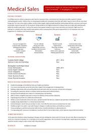 Resume Sample For Doctors by Medical Sales Cv Sample Marketing Resume How To Write A Cv Example
