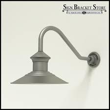 barn light fixtures aluminum gooseneck rlm light 12 barn light shade w 18 x 1 2