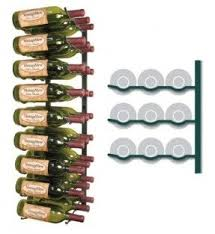 metal hanging wine rack foter