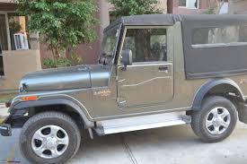 mahindra jeep 2017 the intrepid explorer iii rocky beige mahindra thar team bhp