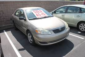 toyota 2007 corolla 2007 used toyota corolla as is for parts only no warranty at