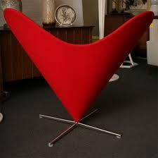 Cone Chair Verner Panton Cone Chair Vintage Verner Panton For Plus Linje Cone