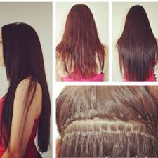 microbead extensions chicago micro bead hair extensions salon