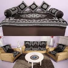 5 in 1 air sofa bed homeshop18 17 pc diwan sofa cover set by azaani diwan set covers homeshop18