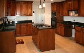 finishing kitchen cabinets ideas kitchen cabinets cherry stain and photos madlonsbigbear com