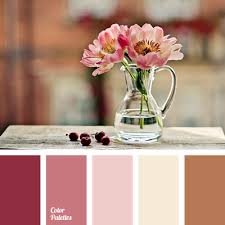 Pink Peonies Bedroom - color of pink peonies color palette ideas