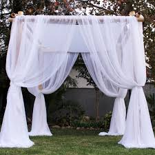 chuppah rental rent bamboo wedding chuppah just 4 party rentals santa barbara