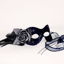 blue masquerade masks beautiful navy blue lace masquerade mask masquerade and