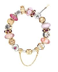 charm bracelet charms sterling silver images Pandora bracelet sterling silver with pink gold charms jpg