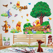 winnie the pooh giant wall stickers home decorating interior winnie the pooh giant wall stickers part 50 wall sticker pooh