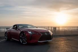 lexus lc f sport 2018 lexus lc 500 our review cars com