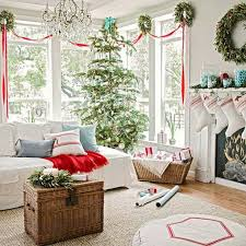 Simple Elegant Christmas Decor by Rustic Decorating Ideas For Living Rooms Christmas Living Room