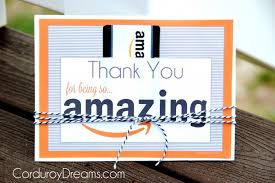 Amazon Com Gift Wrap - thank you with amazon gift card free printable download the