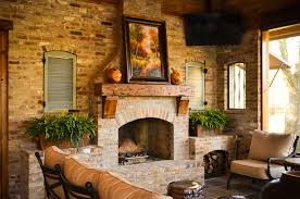 Rustic Mantel Decor Decorating Fireplace Mantels Patio Rustic With Fireplace Mantel