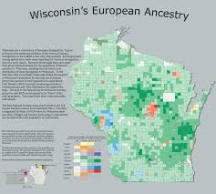 Wisconsin City Map by Resources