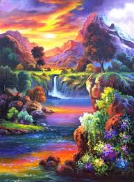 new paintings painted picture on canvas modern wall
