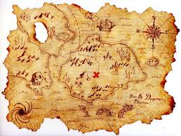 treasure map treasure island