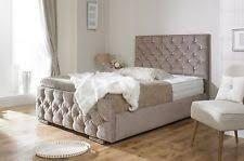 King Size Bed Frame Storage King Size Storage Bed Ebay