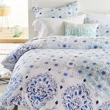 Girls Ocean Bedding by Kelly Slater Organic Ocean Floral Duvet Cover Sham Pbteen