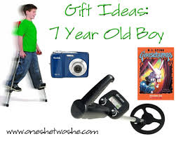 gift ideas 7 year boy or so she says