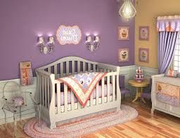 red nursery idea with striking look for baby beautiful and