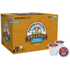Blend K Cups Newman S Own Organic Bold Coffee Special Blend 100 K Cup Pods