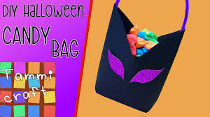 halloween candy bag halloween diy candy bag for trick or treating youtube