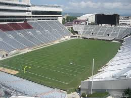 Virginia Tech Interactive Map by Lane Stadium Section 501 Rateyourseats Com