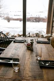 26 best reclaimed wood restaurant table tops images on pinterest reclaimed rustic restaurant table tops for victory ranch ut