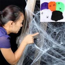 Spider Web Halloween Decoration Online Get Cheap Halloween Spider Web Aliexpress Com Alibaba Group