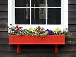 What To Plant In Window Flower Boxes - how to build a wooden window box for flowers with plans