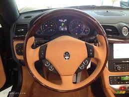 maserati steering wheel 2012 maserati granturismo convertible grancabrio pearl beige