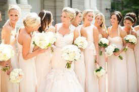 blush bridesmaid midi dresses and gowns collection u2013 designers