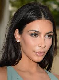 tucked behind the ear haircuts 50 best kim kardashian hairstyles