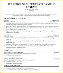 resume exles for warehouse warehouse lead resume warehouse supervisor resume warehouse