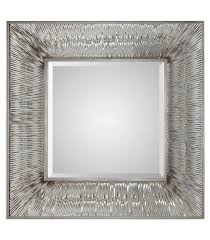 Uttermost Mirrors Free Shipping Uttermost Jacenia Silver Square Mirror 09291