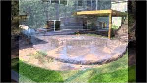backyards splendid backyard concrete cost stamped concrete patio