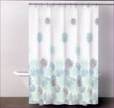 Extra Long Clear Shower Curtain Bathrooms Wonderful How Long Is A Shower Curtain Blue And Grey