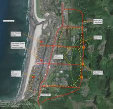 Oregon Tsunami Map by Fifty Year Resilience Strategies For Coastal Communities At Risk