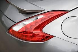 nissan 370z tail lights nissan 370z design styling autocar