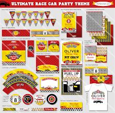 free printable disney cars birthday party invitations ideas
