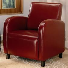 chairs awesome red accent chairs red leather chairs red leather