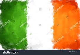 Color Of Irish Flag Oil Color Ireland Flag Stock Illustration 239672476 Shutterstock
