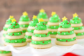 Decorated Christmas Tree Cookies by Christmas Tree Sweets Candy Shaped Like Christmas Trees