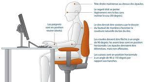 position assise bureau mal de dos comment se soulager facilement à la maison et au bureau